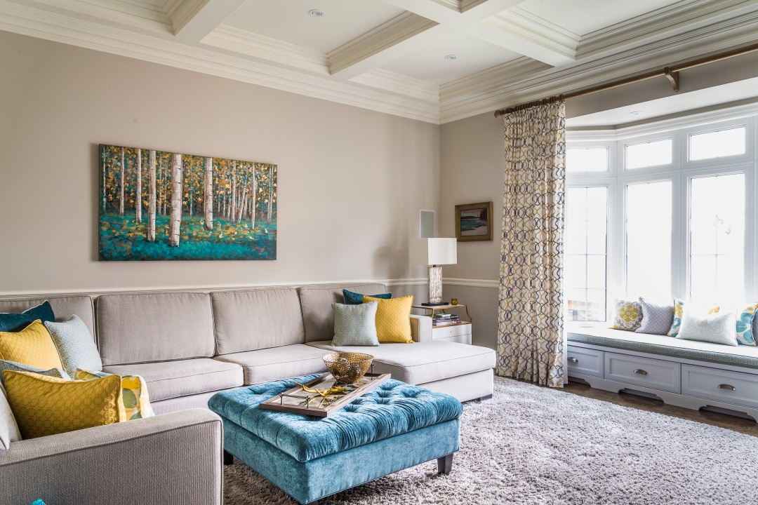 maple drapery carpet and drapes shown in living area.