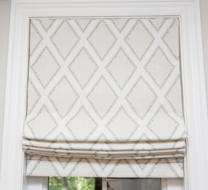 window blinds with pattern customized in toronto area