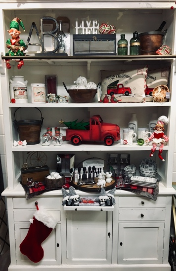 Red Winter Decor Accessories