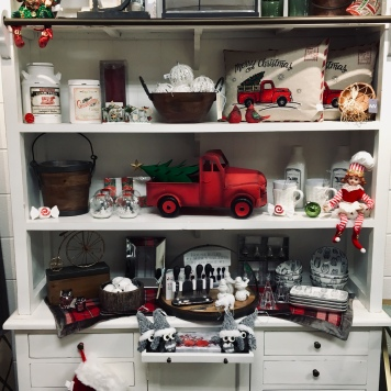 Red Winter Decor Accessories