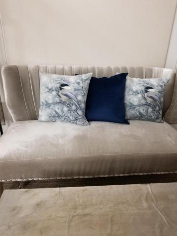 Seasonal Winter Pillows - Birds